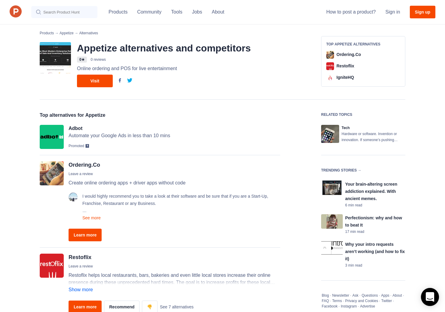 3 Alternatives to Appetize | Product Hunt