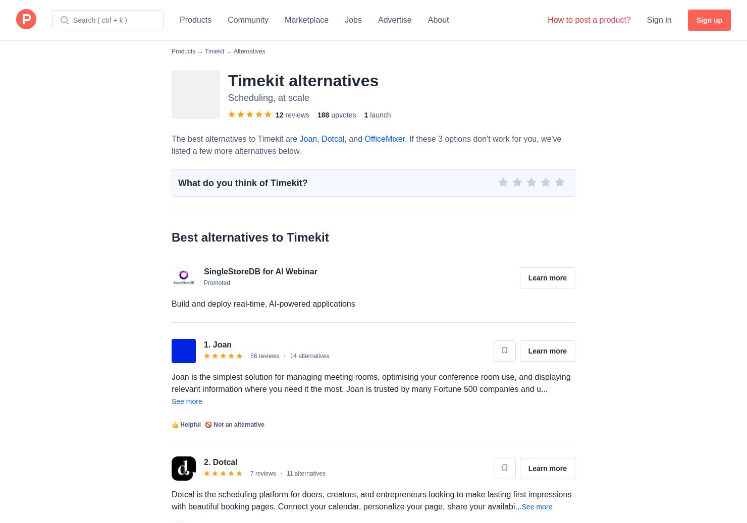 9 Alternatives to Timekit | Product Hunt