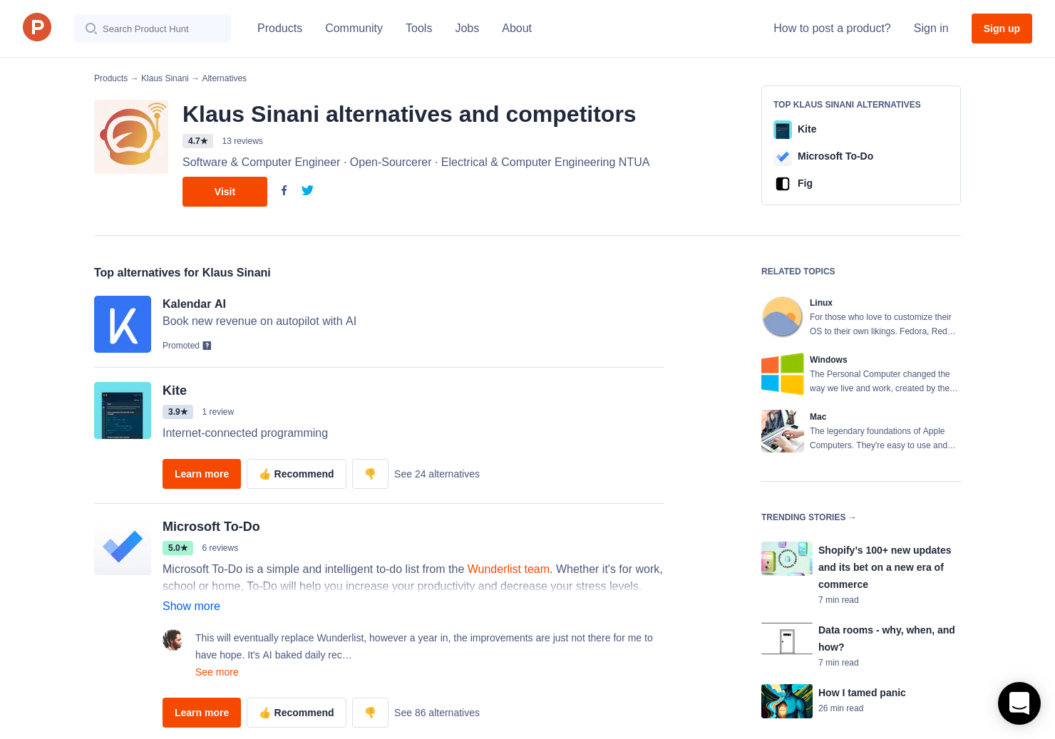 7 Alternatives to Tusk for Linux, Windows, Mac | Product Hunt