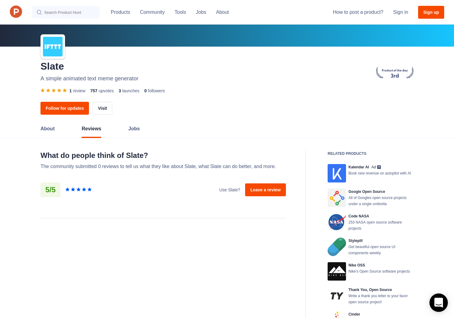 Slate Reviews - Pros, Cons and Rating | Product Hunt