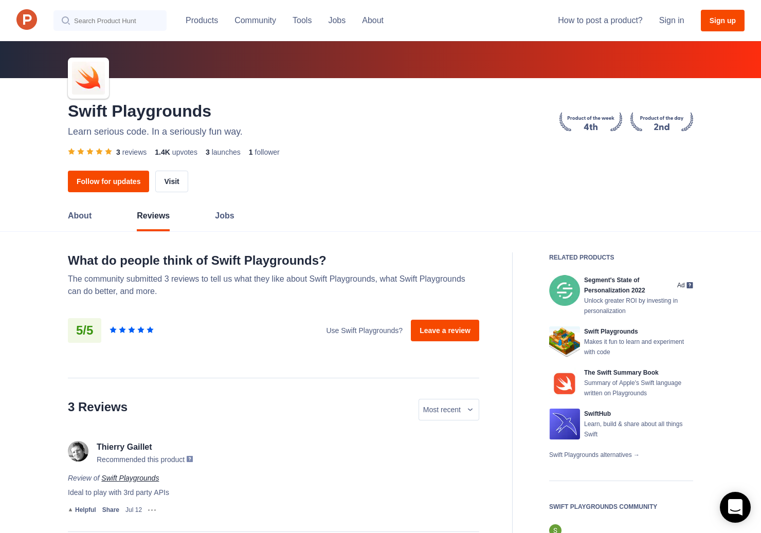 3 Swift Playgrounds Reviews - Pros, Cons and Rating