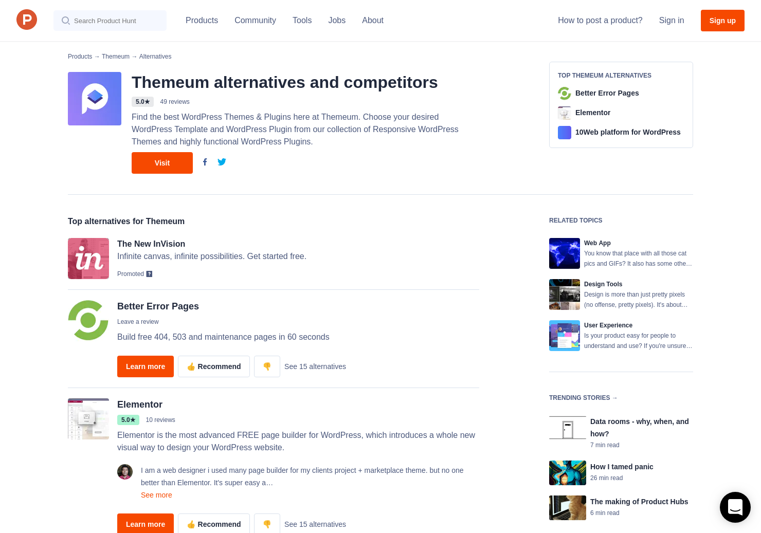 11 Alternatives to WP Page Builder | Product Hunt