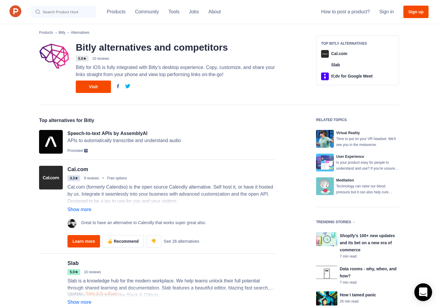 19 Alternatives to New Bitly | Product Hunt