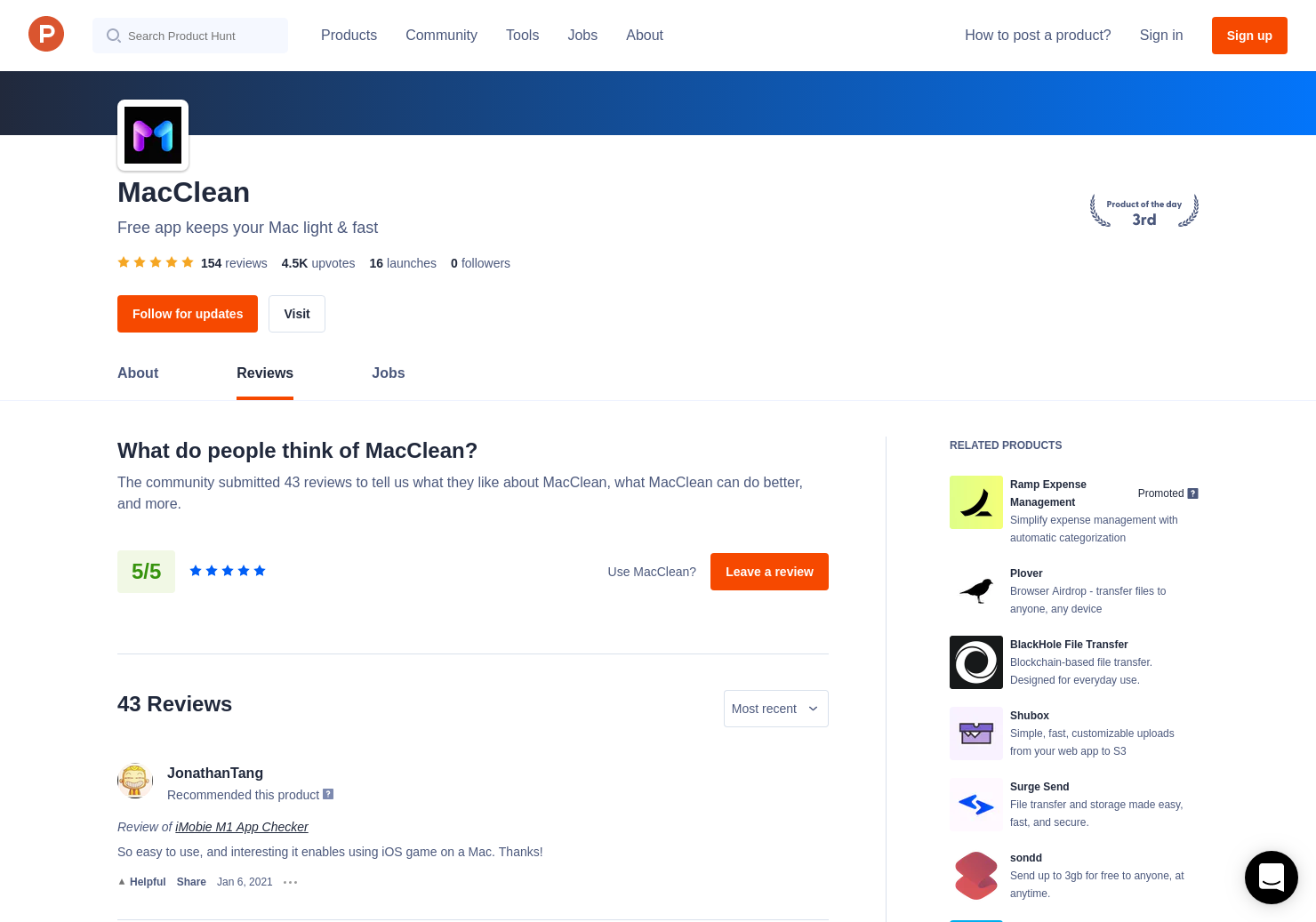 AnyTrans for Cloud Reviews - Pros, Cons and Rating | Product Hunt
