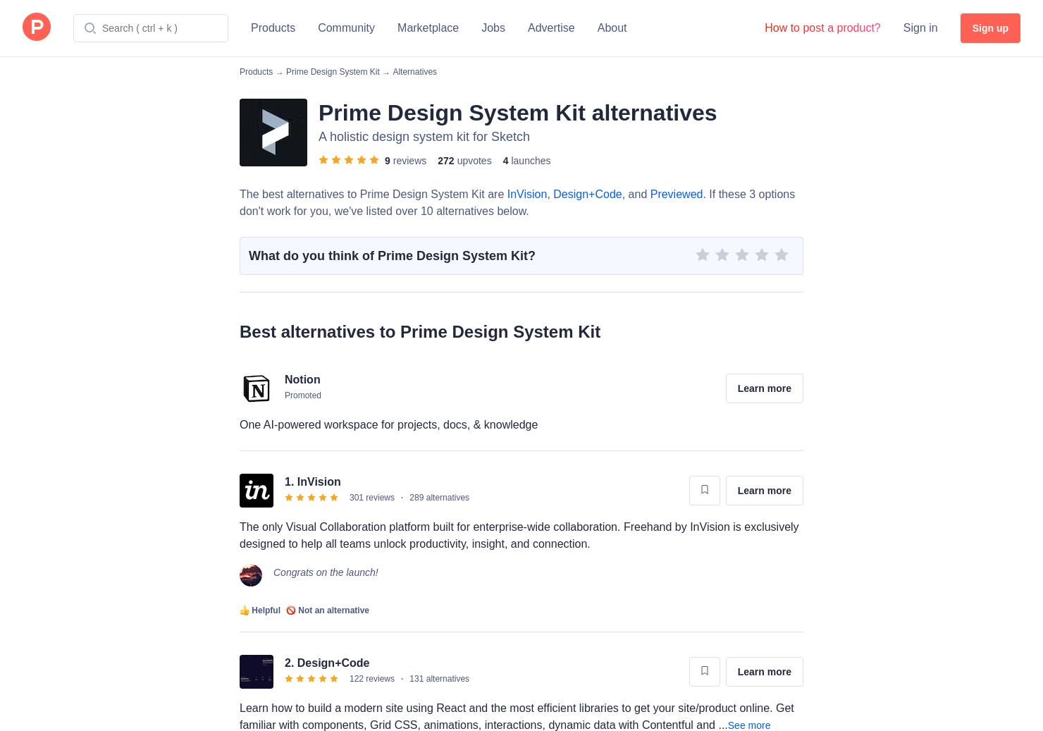 8 Alternatives to Prime Design System Kit | Product Hunt