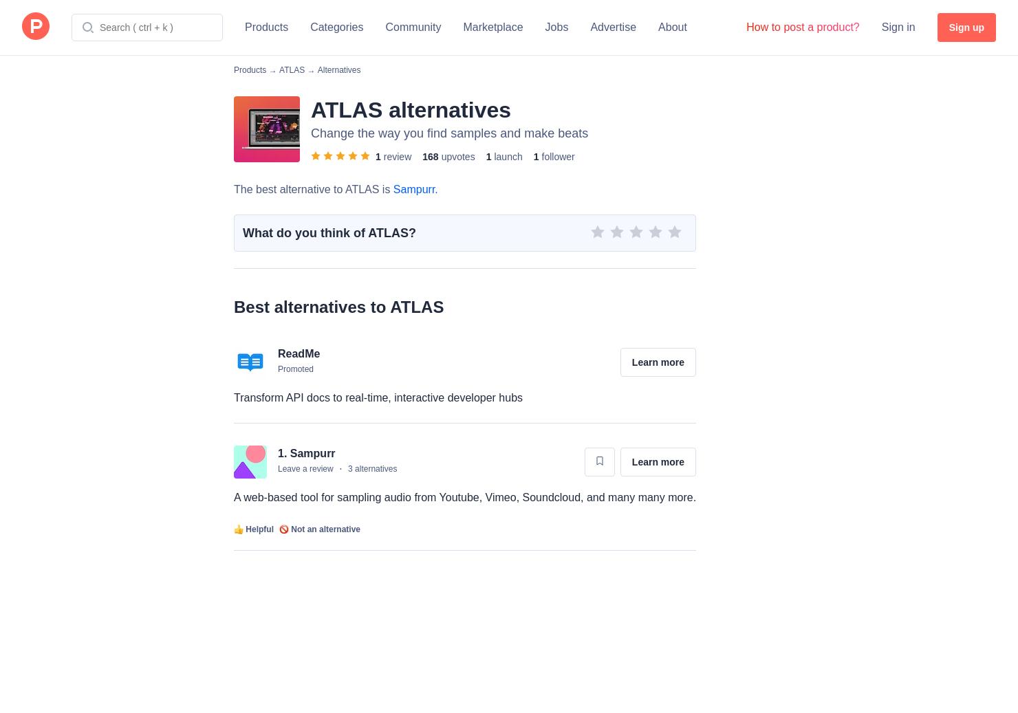 12 Alternatives to ATLAS | Product Hunt