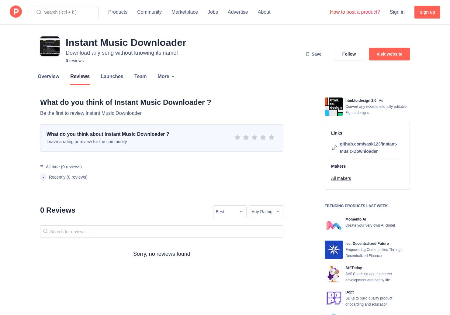 Music Downloader Github