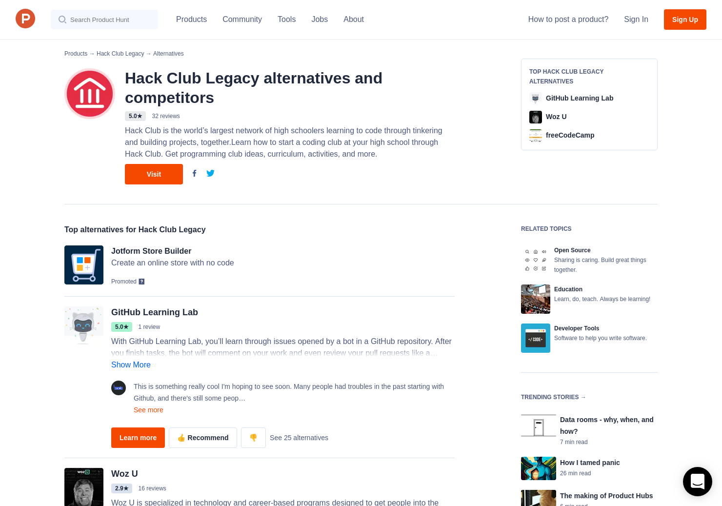 6 Alternatives to Hack Club Bank 1 0 | Product Hunt