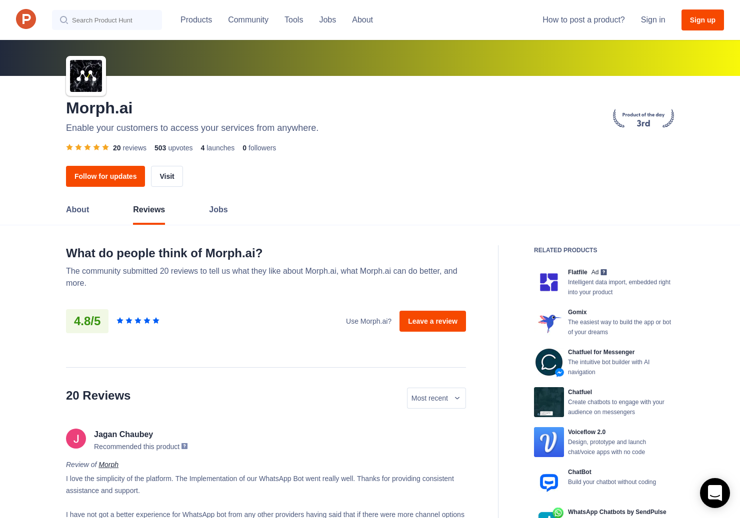 Morph - Announce Reviews - Pros, Cons and Rating | Product Hunt