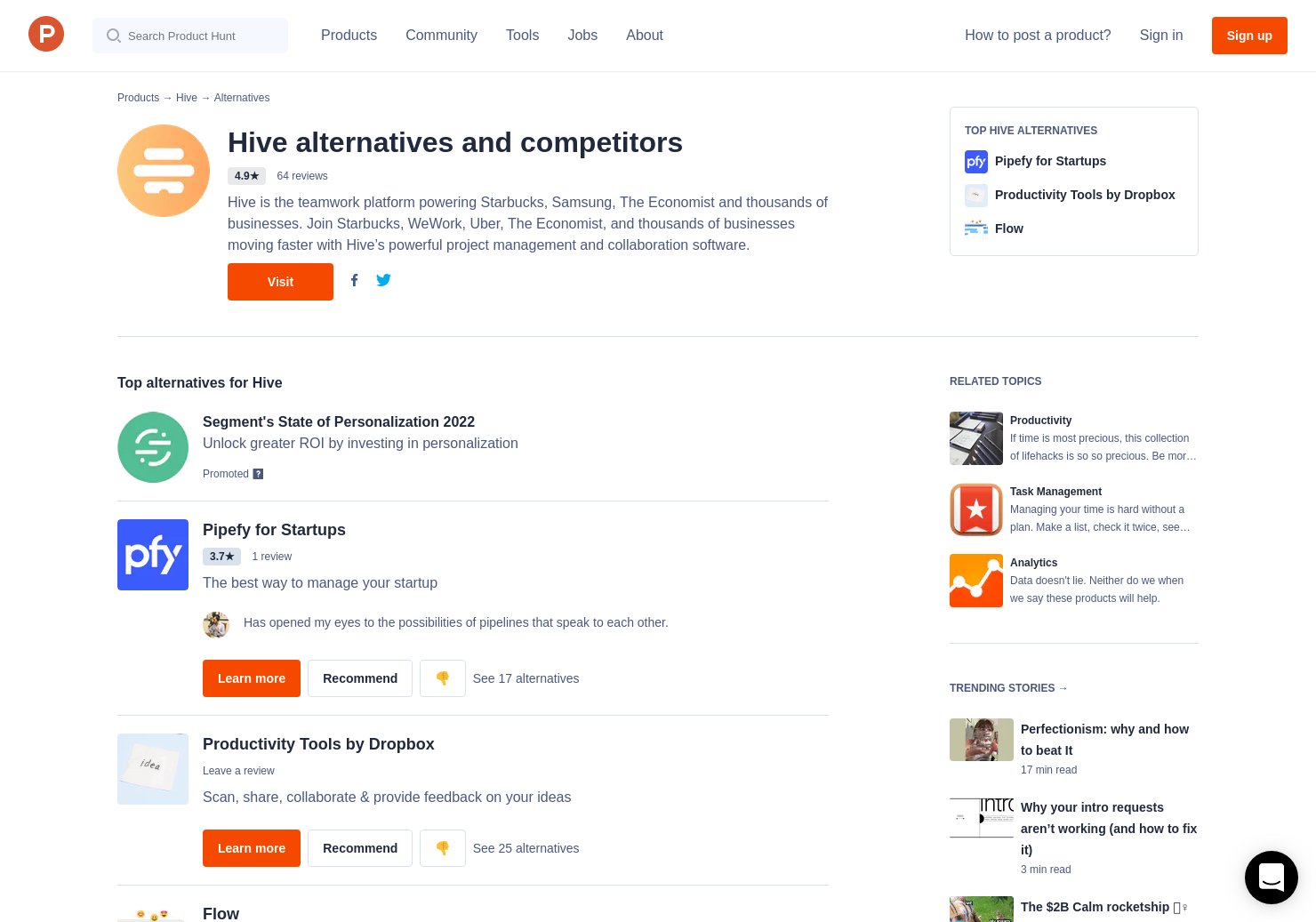 8 Alternatives to Hive | Product Hunt