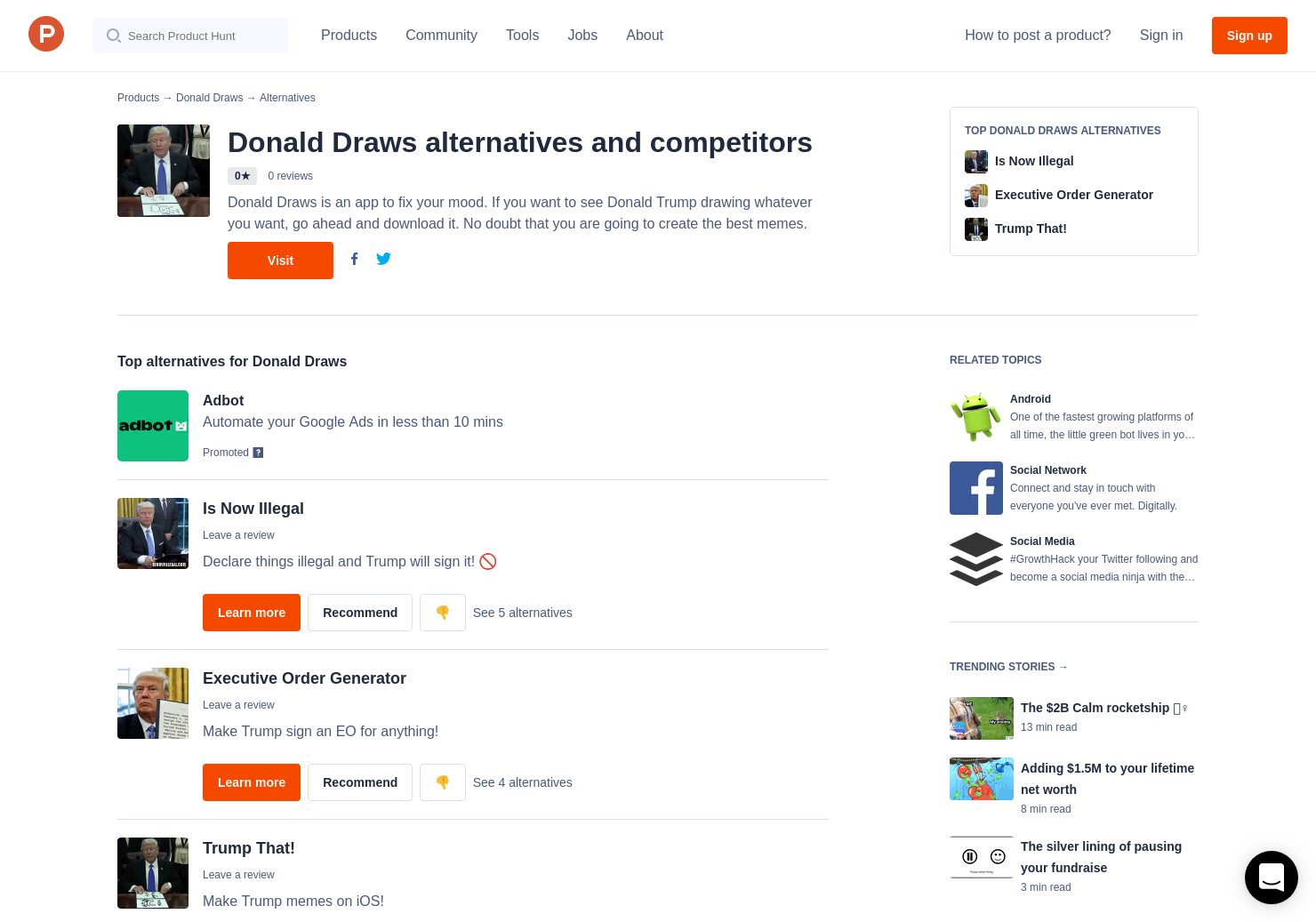 5 Alternatives To Donald Draws For Android