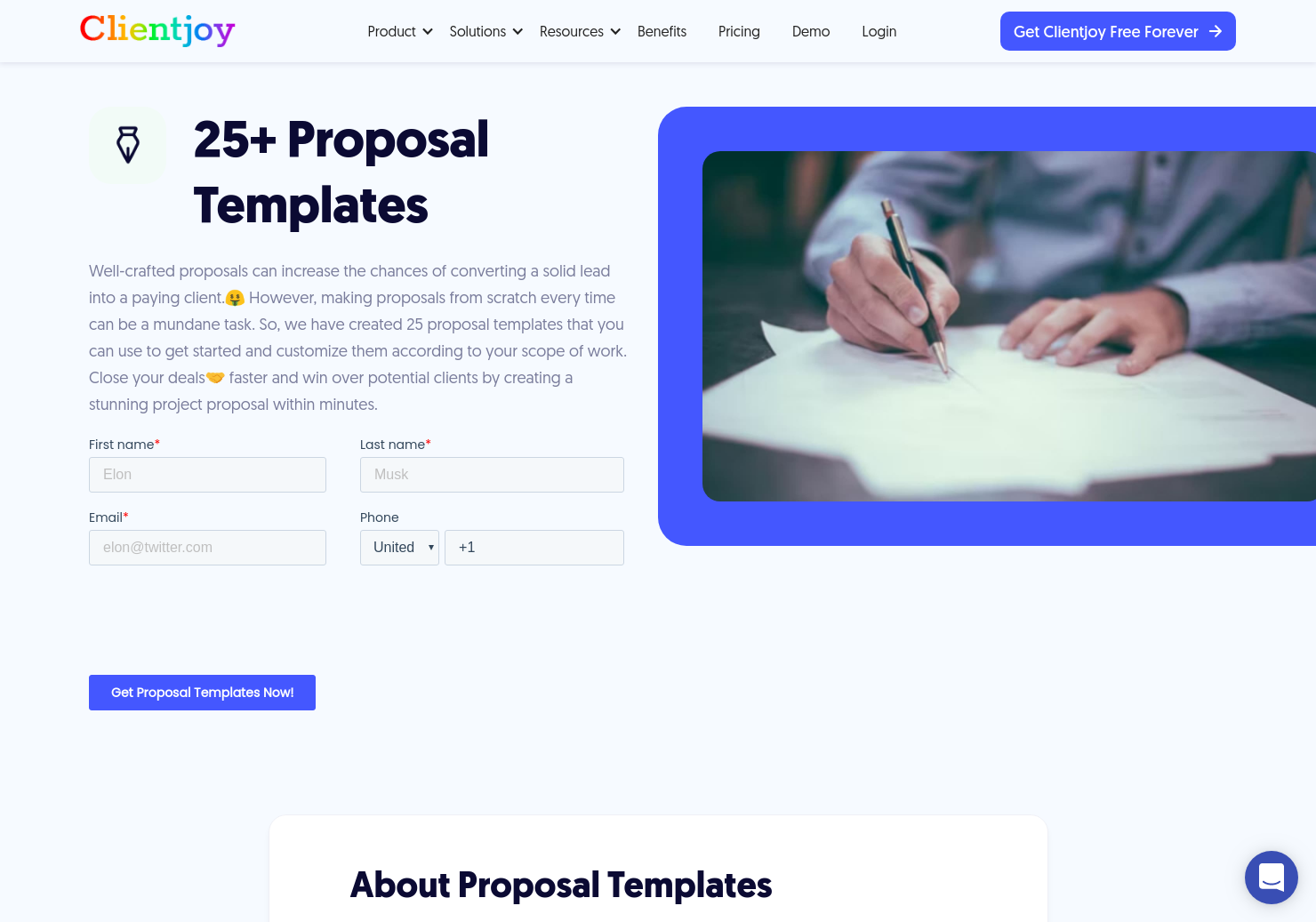 Proposal Templates for Agencies
