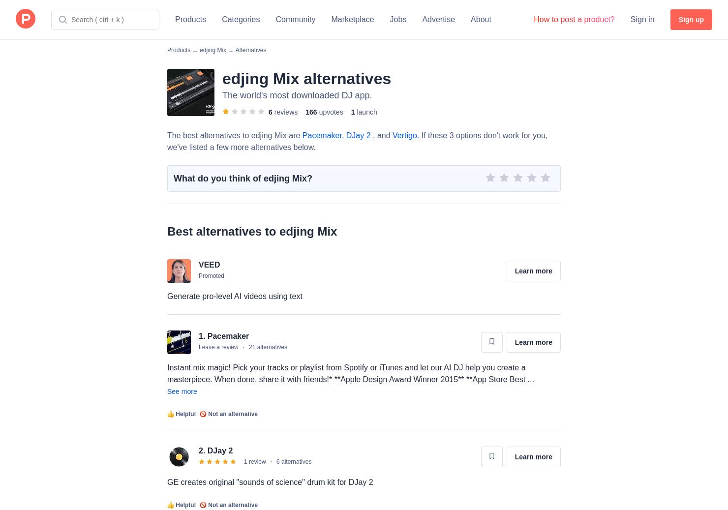 10 Alternatives to Edjing | Product Hunt