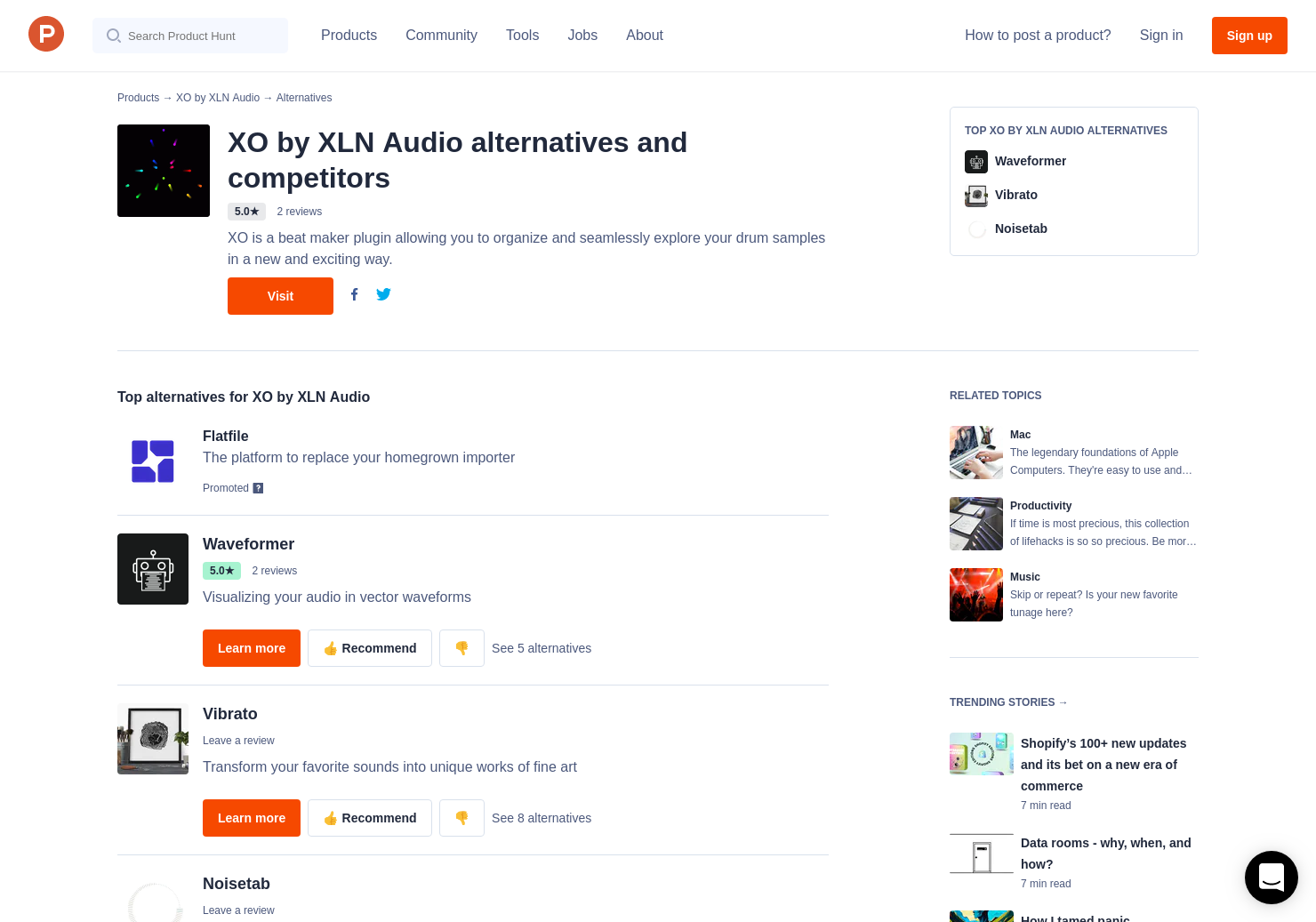 4 Alternatives to XO by XLN Audio for Mac | Product Hunt