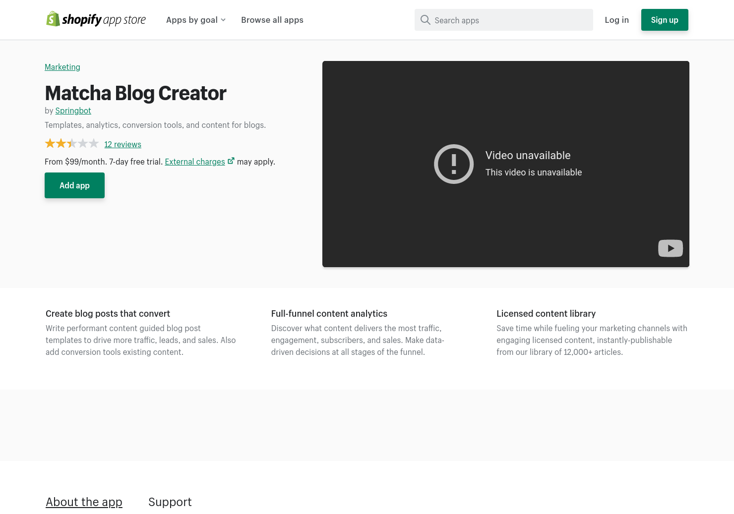 Blog Creator for Shopify
