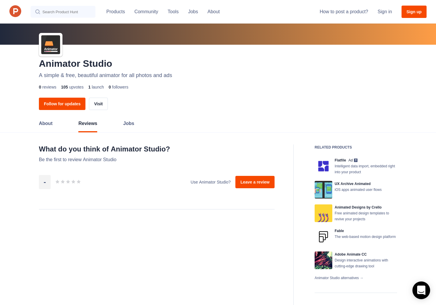 Animator Studio Reviews Pros Cons And Rating Product Hunt