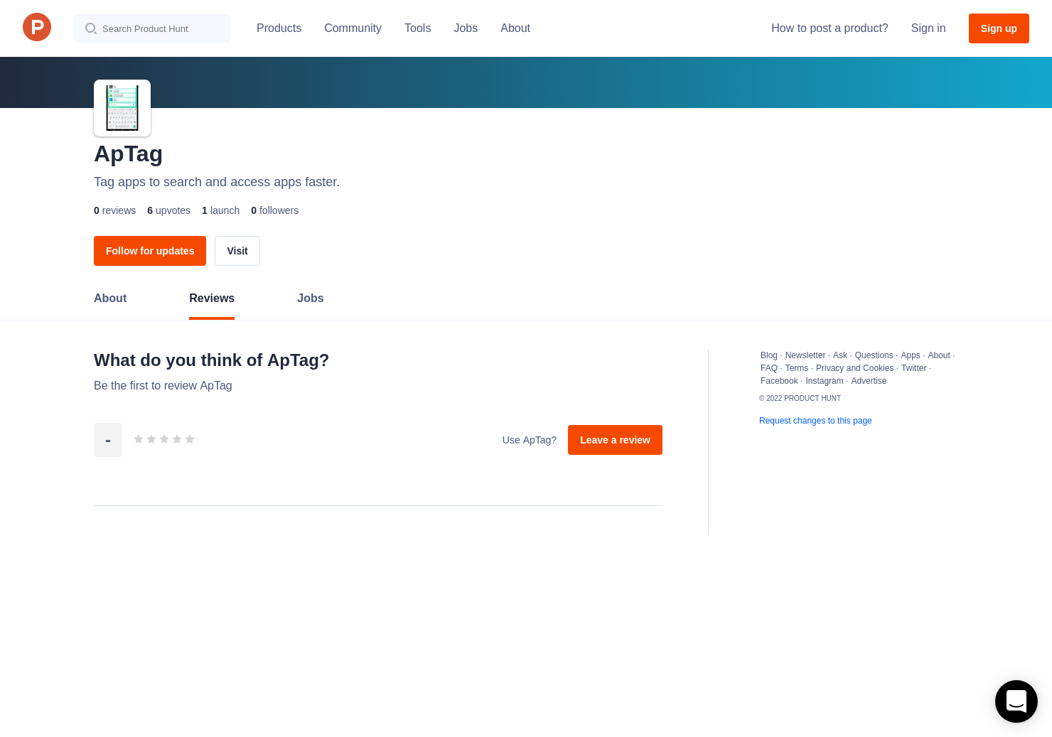 ApTag Reviews - Pros, Cons and Rating | Product Hunt