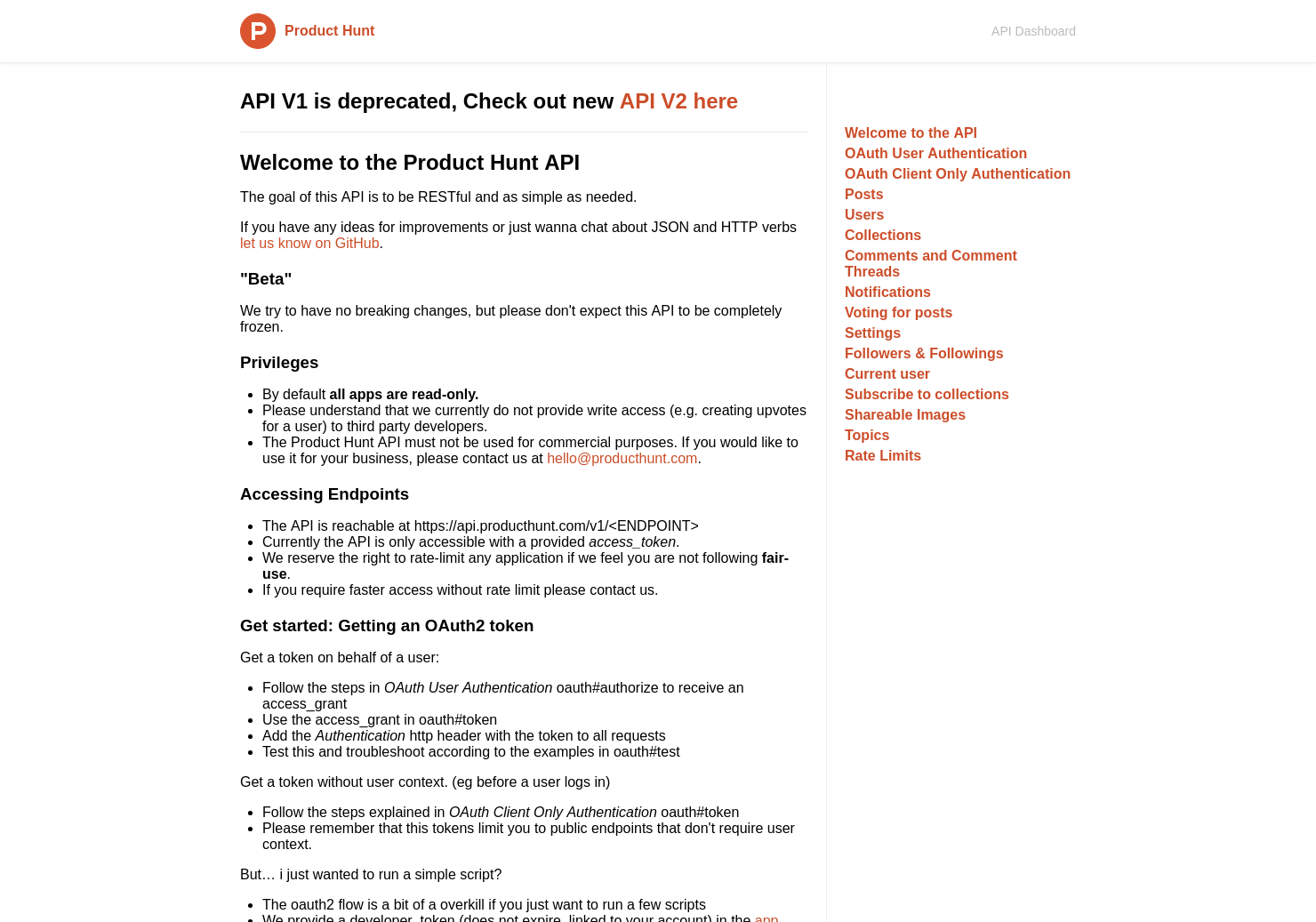 Product Hunt API: Example Performance Tips