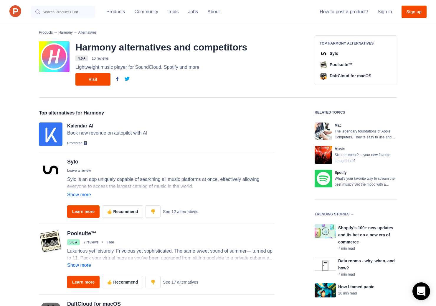 12 alternatives to harmony for linux windows mac product hunt