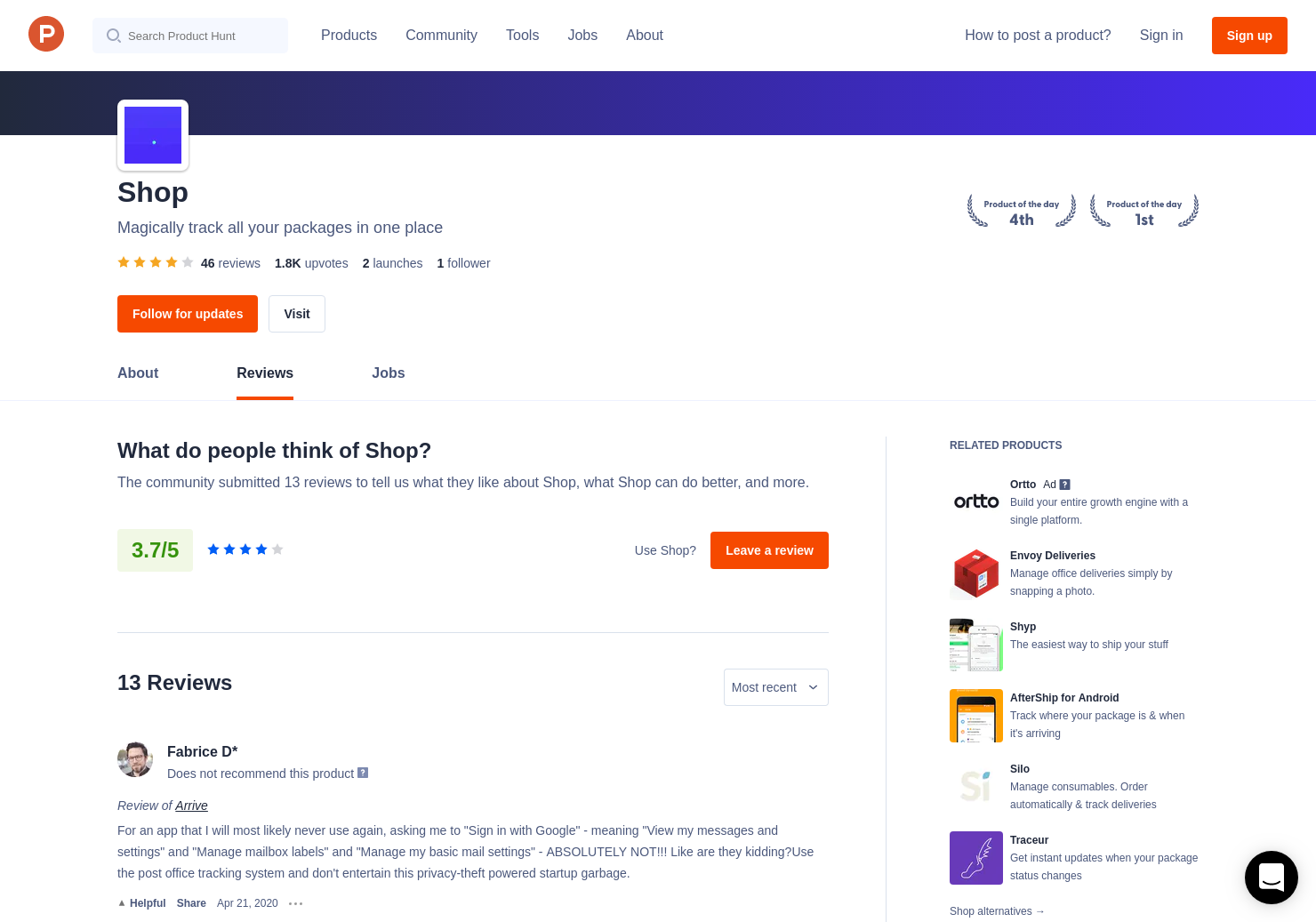 14 Arrive Reviews - Pros, Cons and Rating | Product Hunt