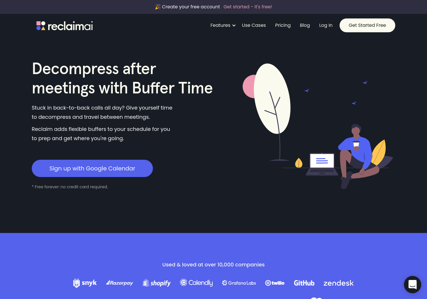 Buffer Time by Reclaim