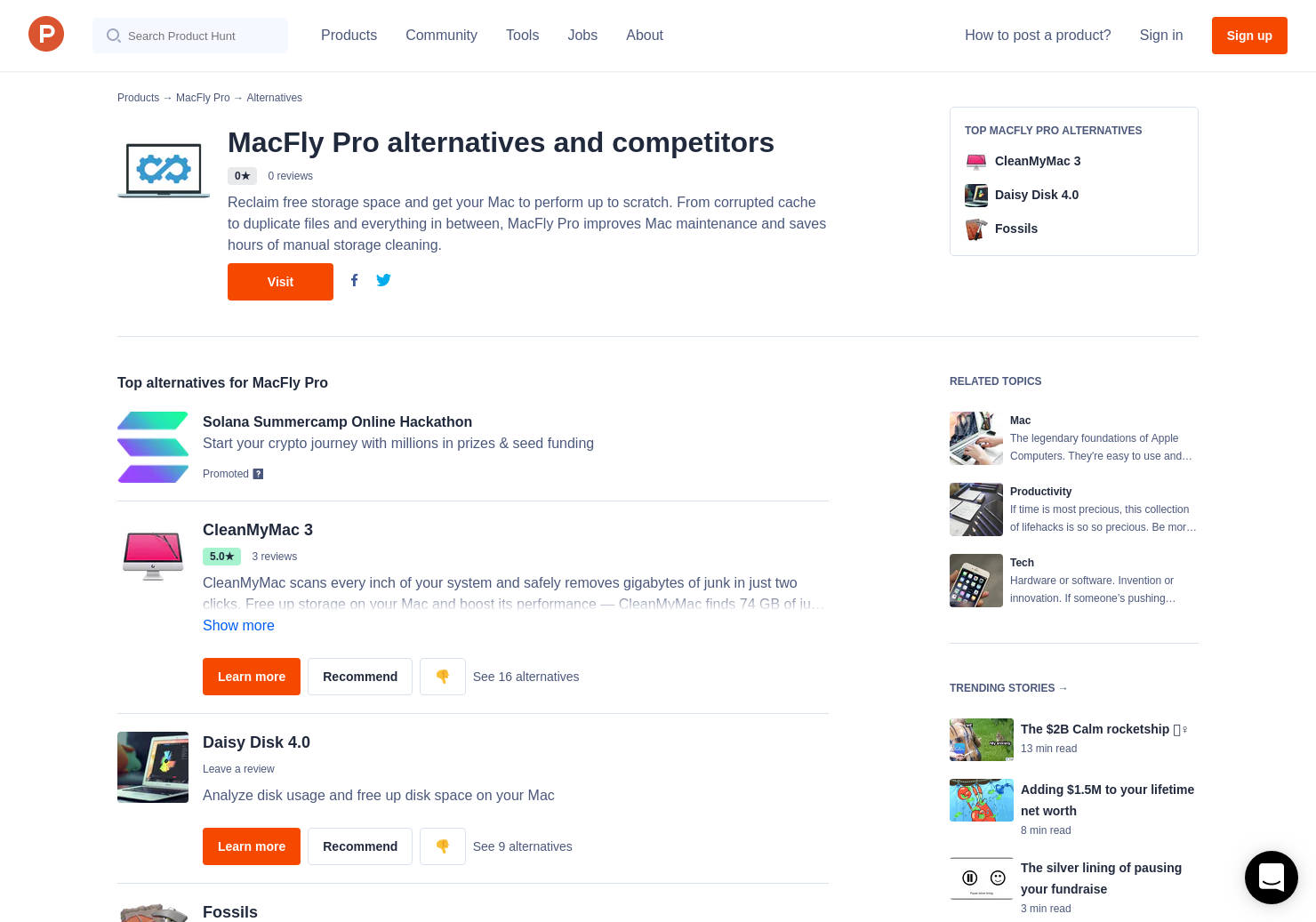 9 Alternatives to MacFly Pro for Mac | Product Hunt