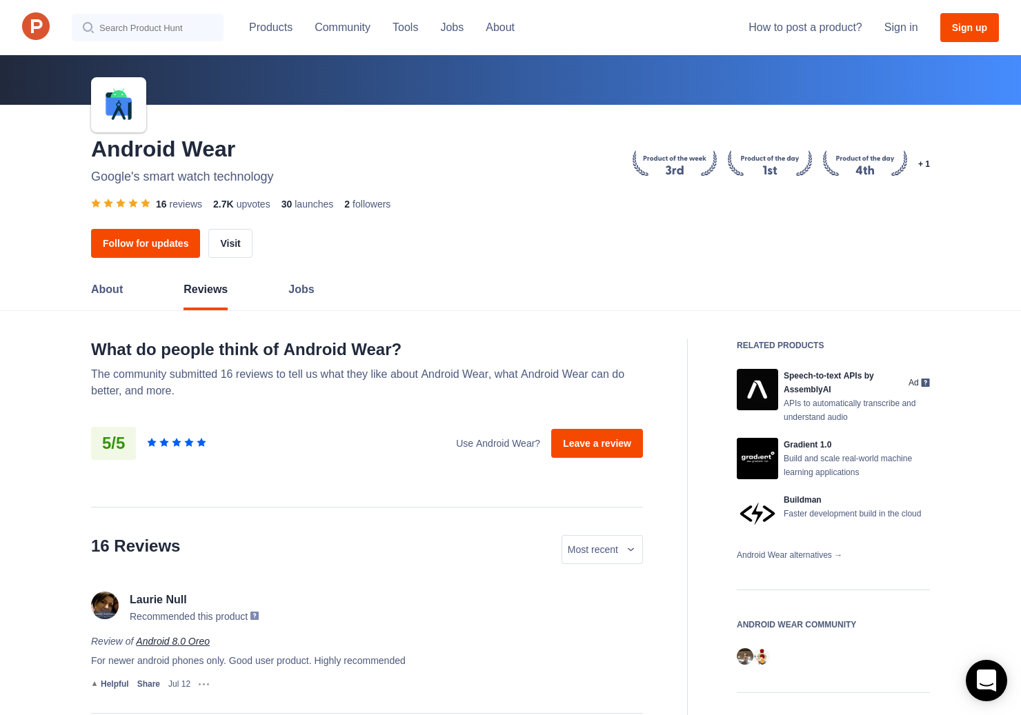 Android Studio 1 0 Reviews - Pros, Cons and Rating | Product Hunt