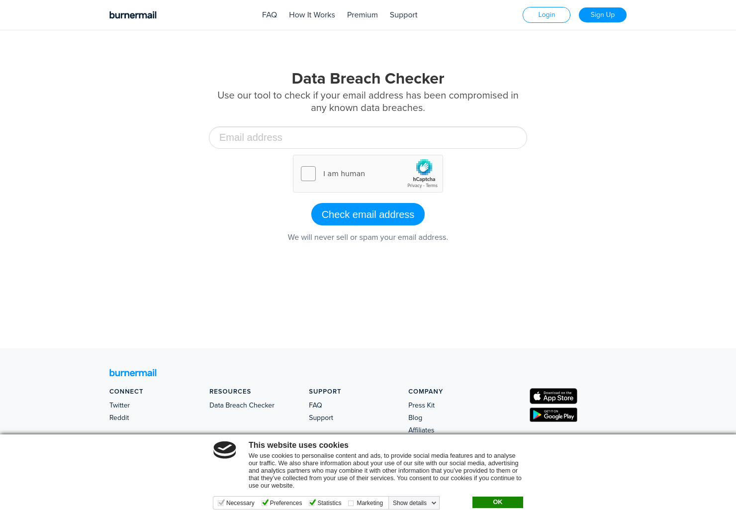 Data Breach Checker