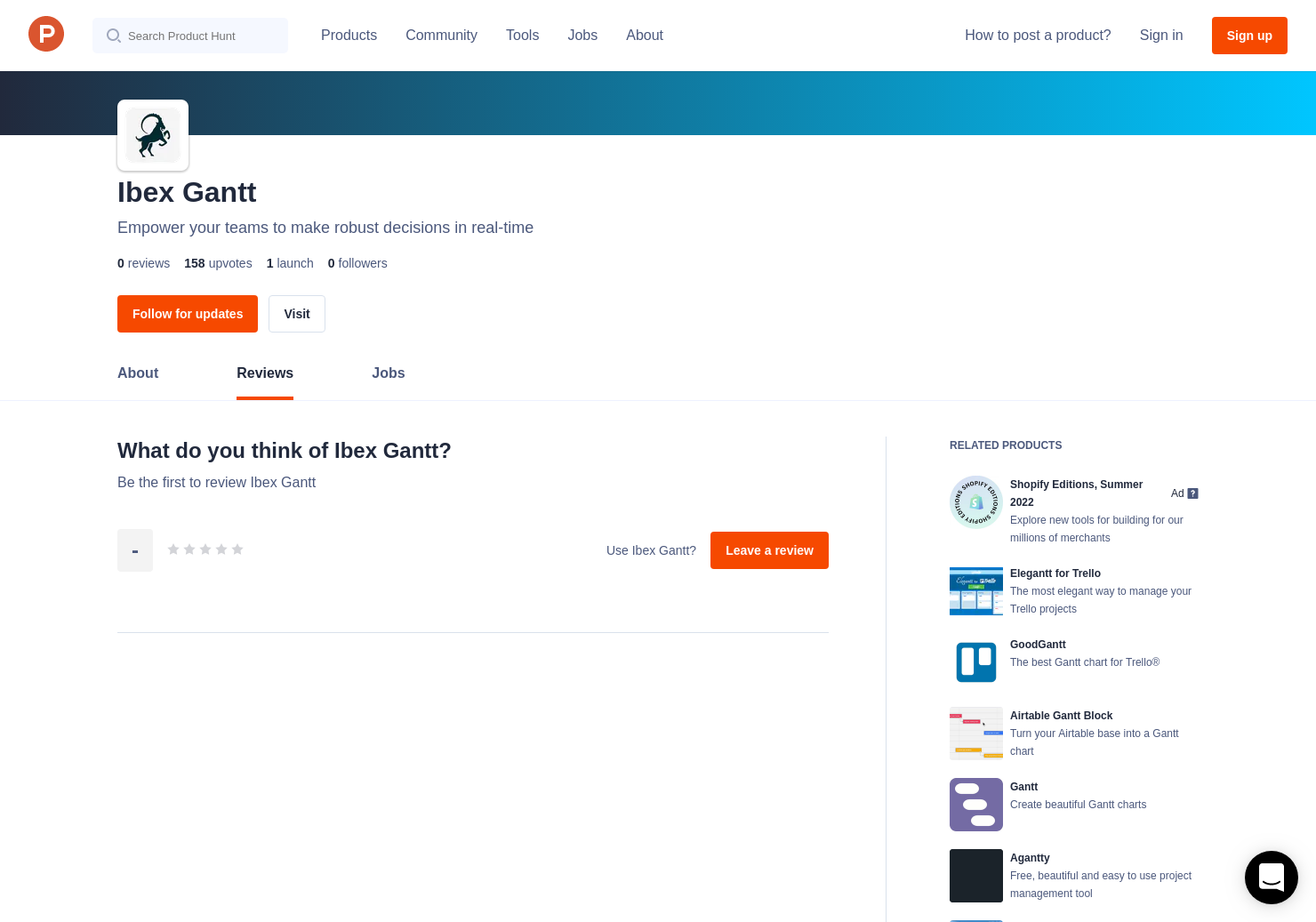 Ibex Gantt Reviews Pros Cons And Rating Product Hunt