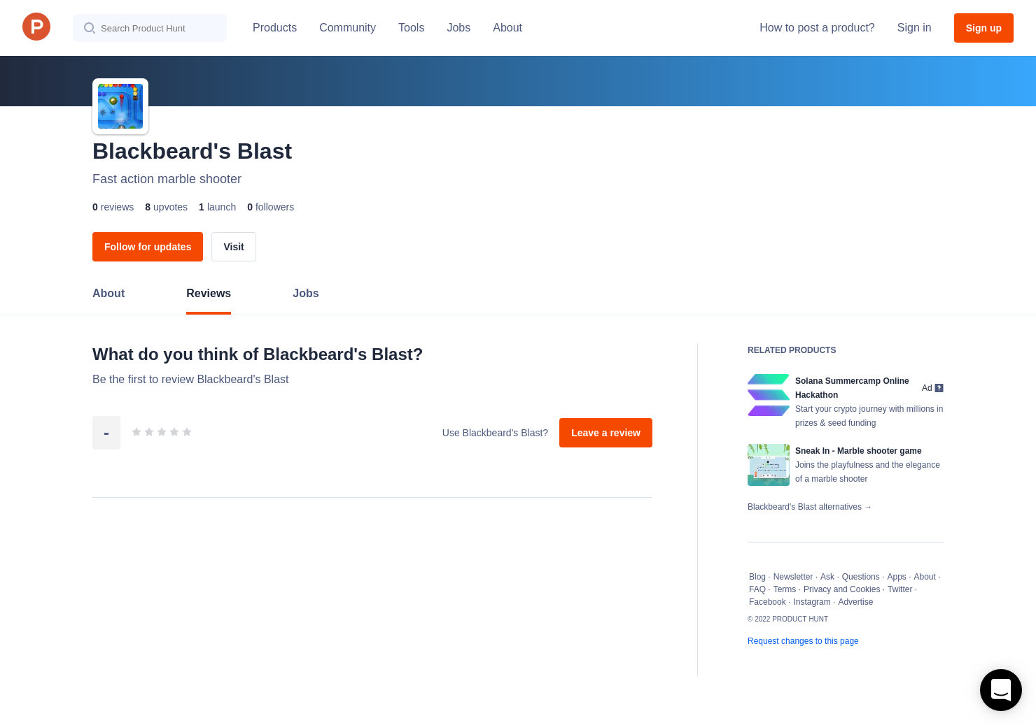 Blackbeard's Blast Reviews - Pros, Cons and Rating | Product Hunt