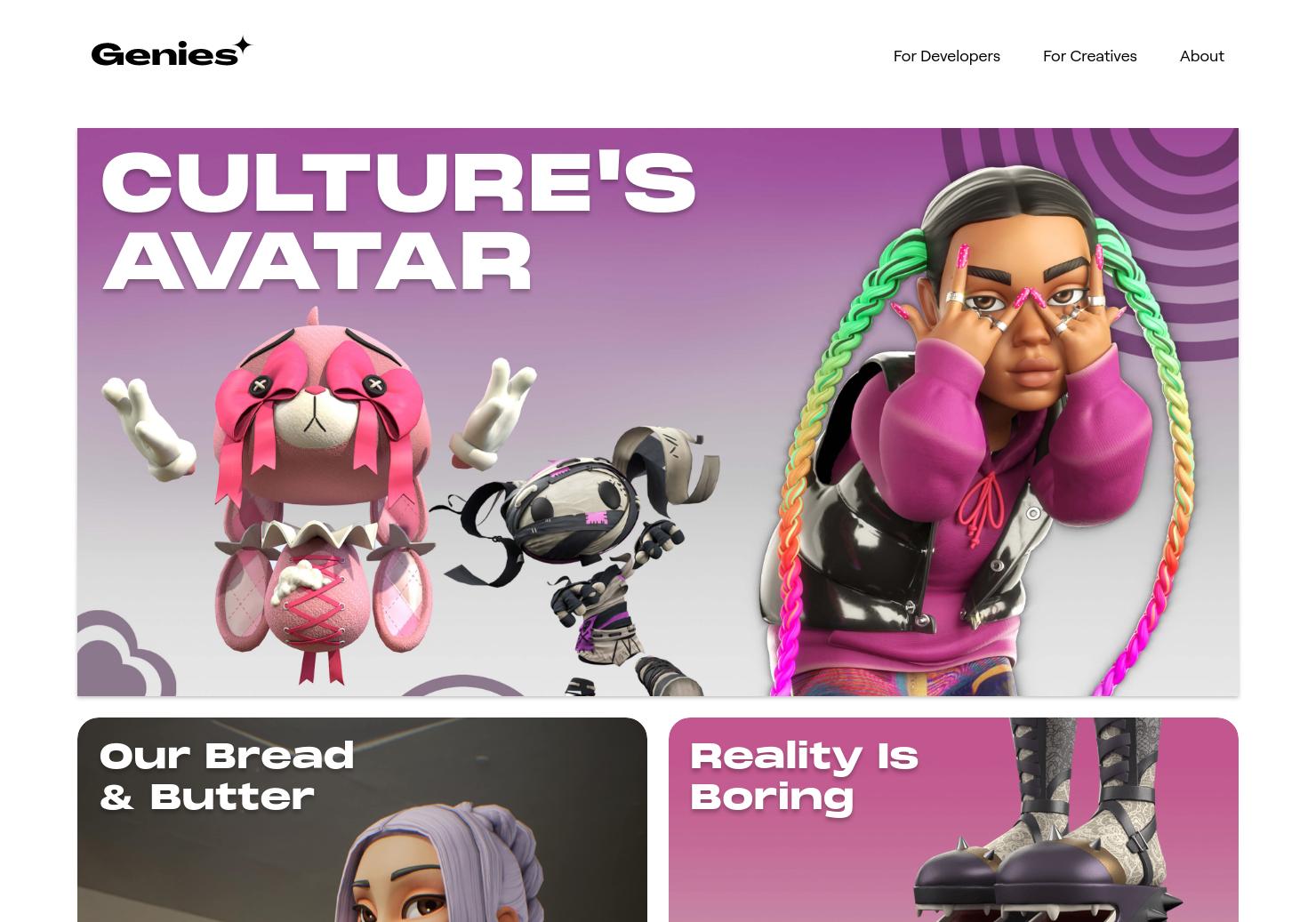 Genies 3D Avatar & Digital Goods SDK