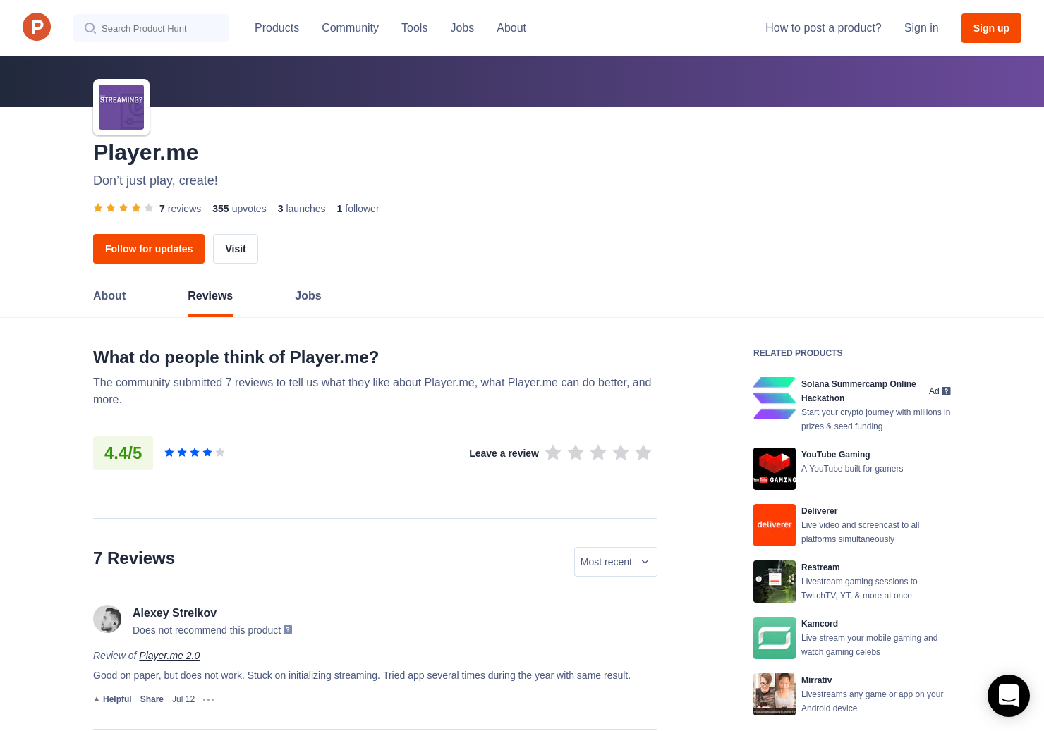 2 Player me 2 0 Reviews - Pros, Cons and Rating | Product Hunt