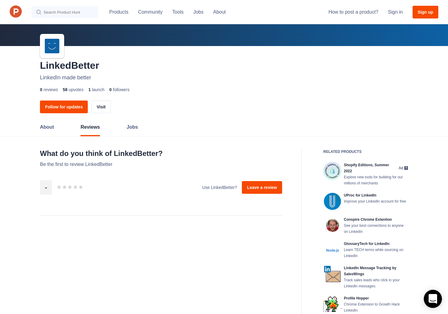 Linkedbetter Reviews Pros Cons And Rating Product Hunt