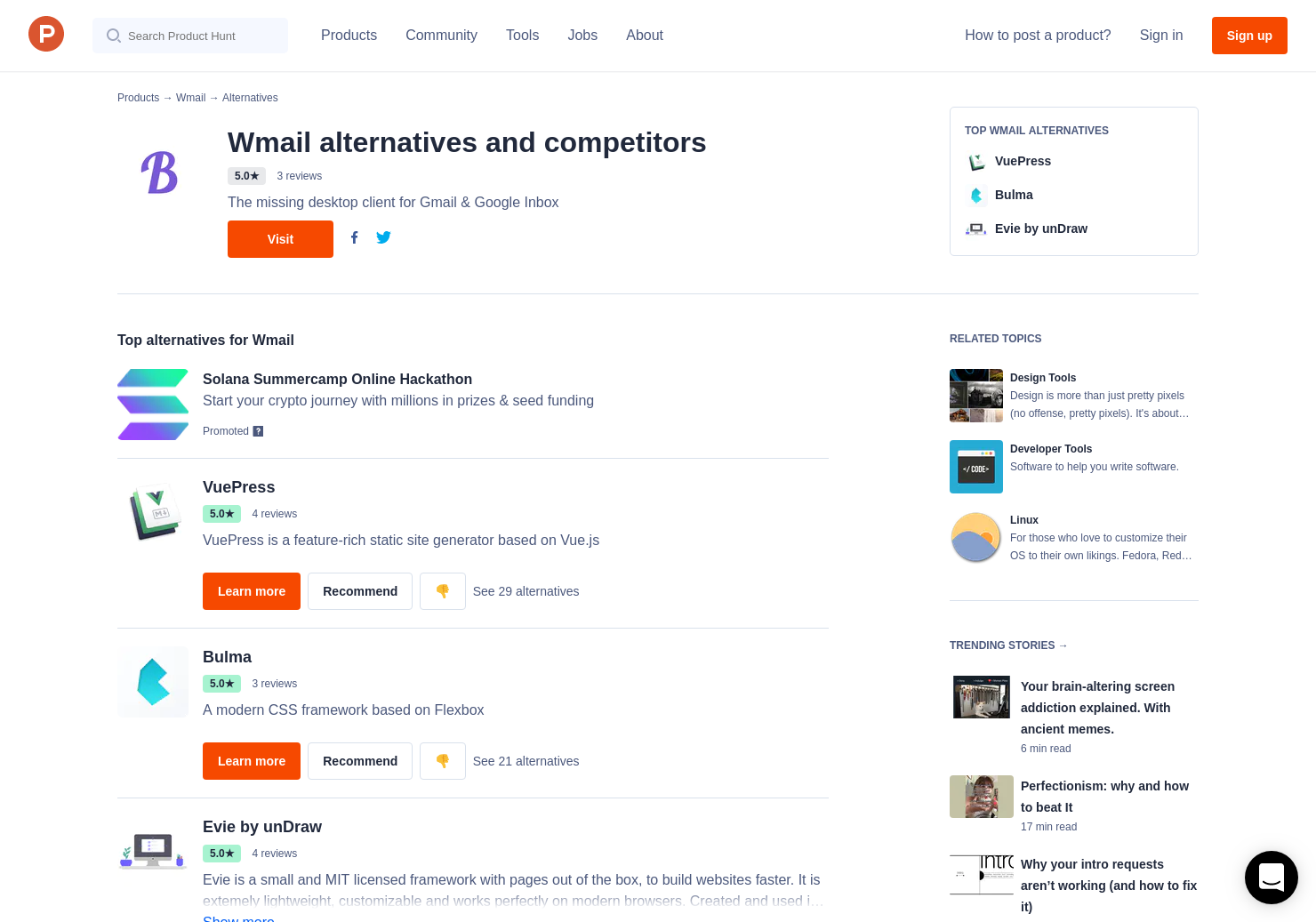 10 Alternatives to Buefy | Product Hunt