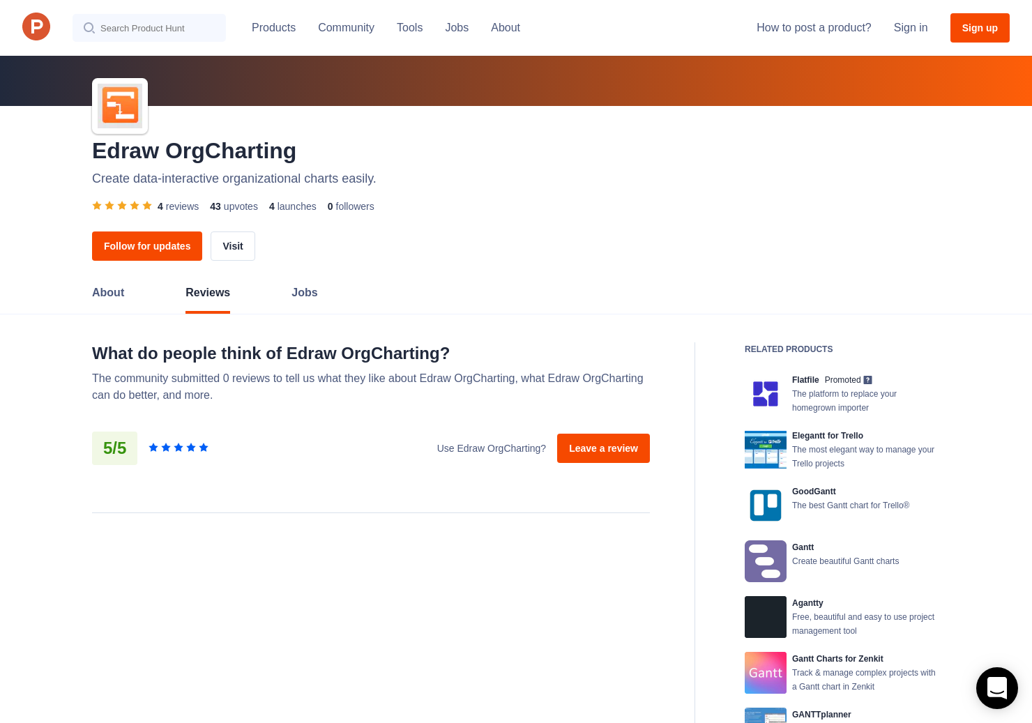 Agantty 1 edraw project reviews - pros, cons and rating   product hunt