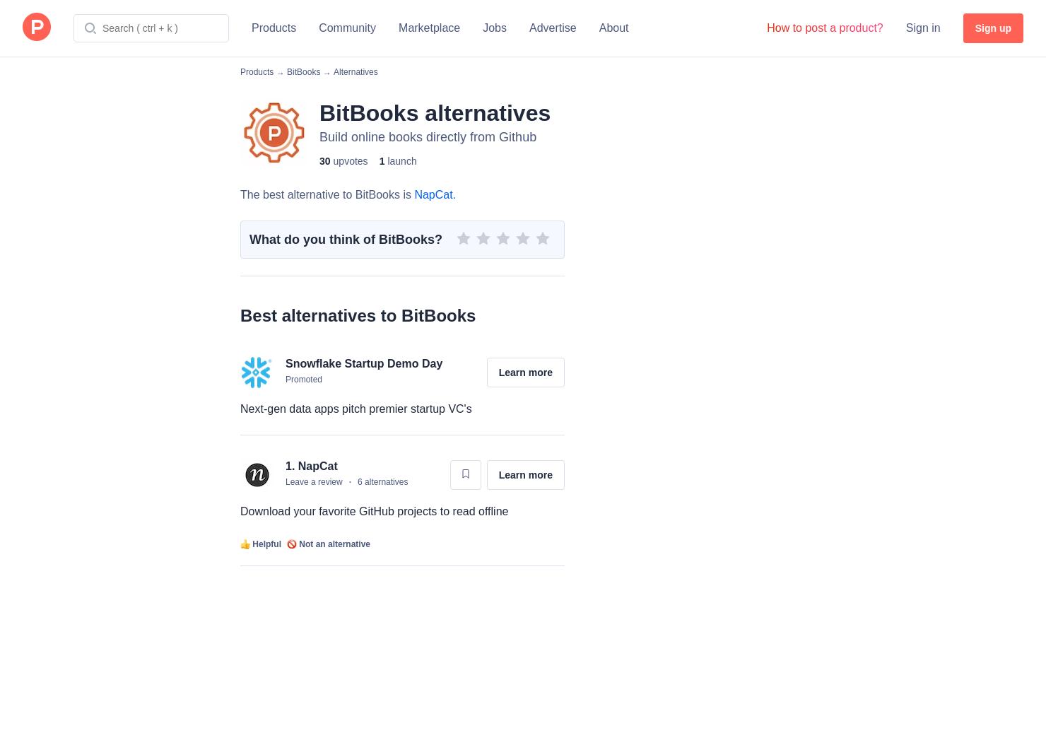 1 Alternatives to BitBooks | Product Hunt