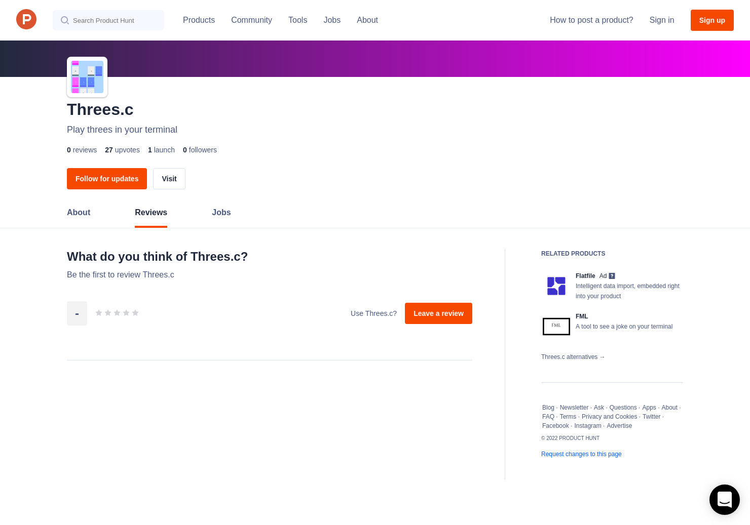Threes c Reviews - Pros, Cons and Rating | Product Hunt