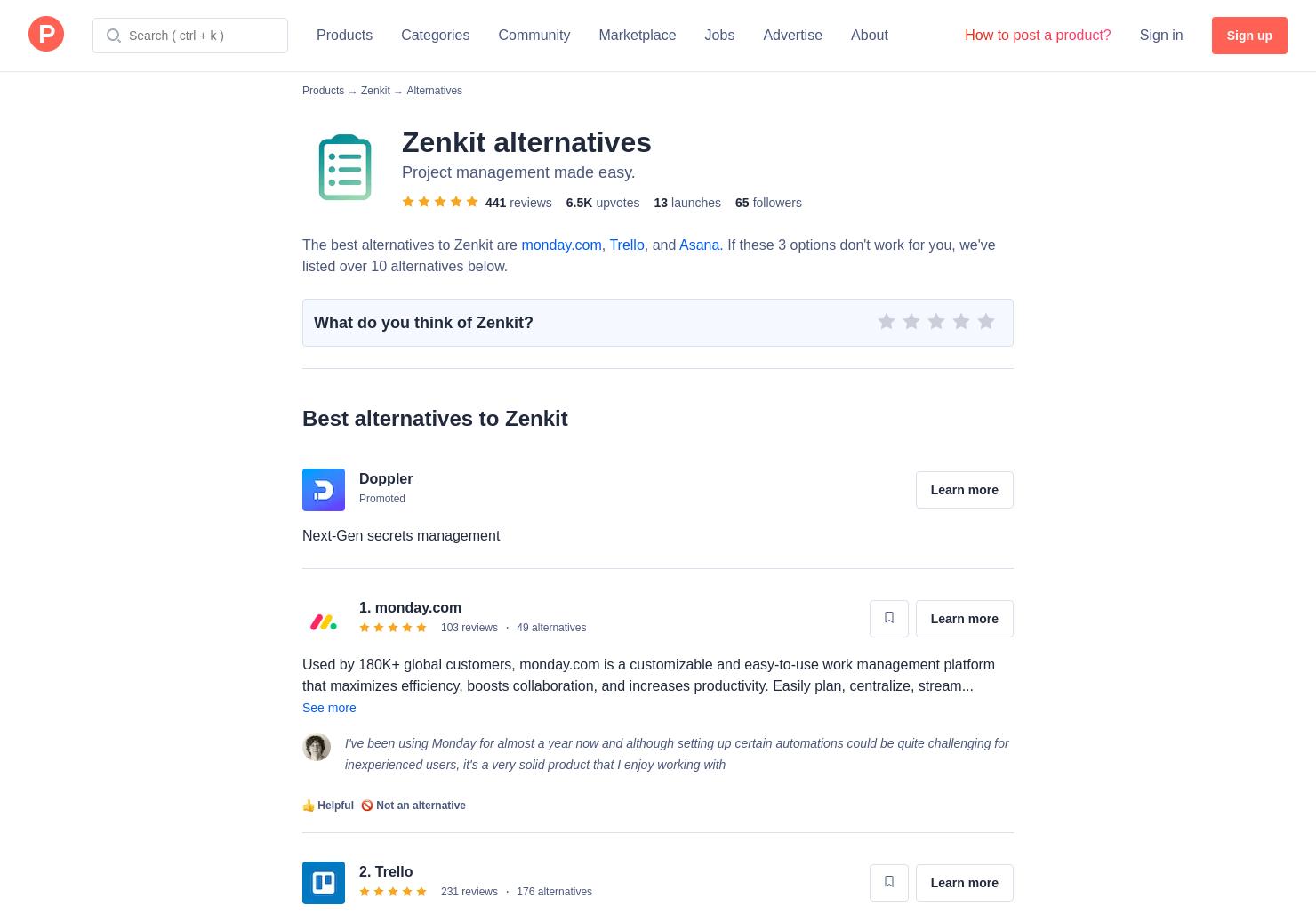 13 Alternatives to Zenkit Desktop Apps for Linux, Windows