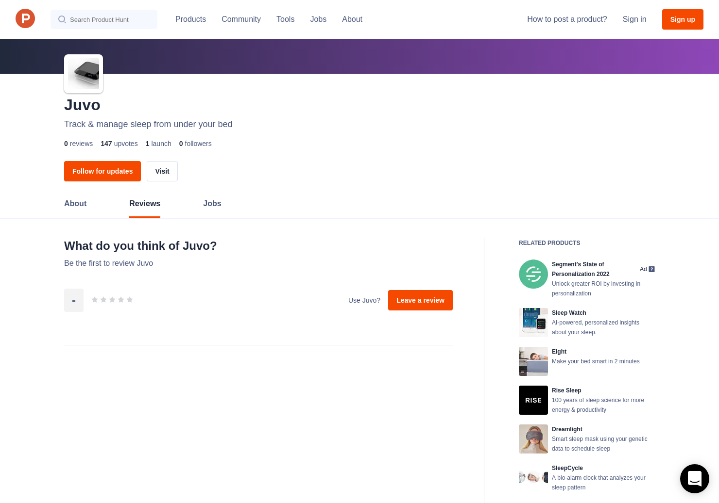 Juvo Reviews - Pros, Cons and Rating | Product Hunt