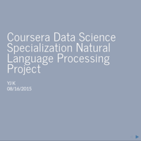 coursera natural language processing