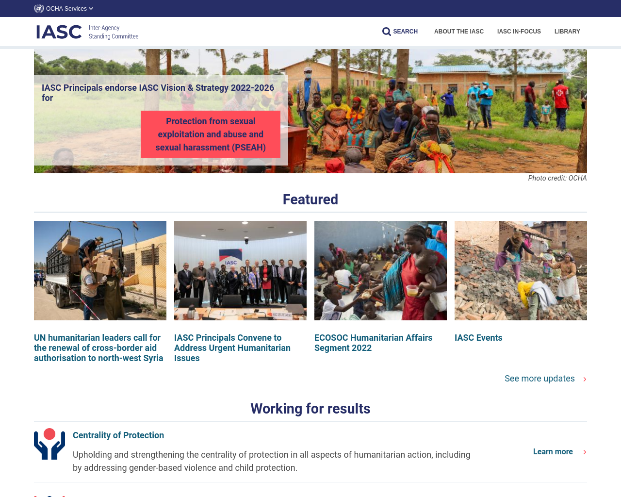 interagencystandingcommittee.org