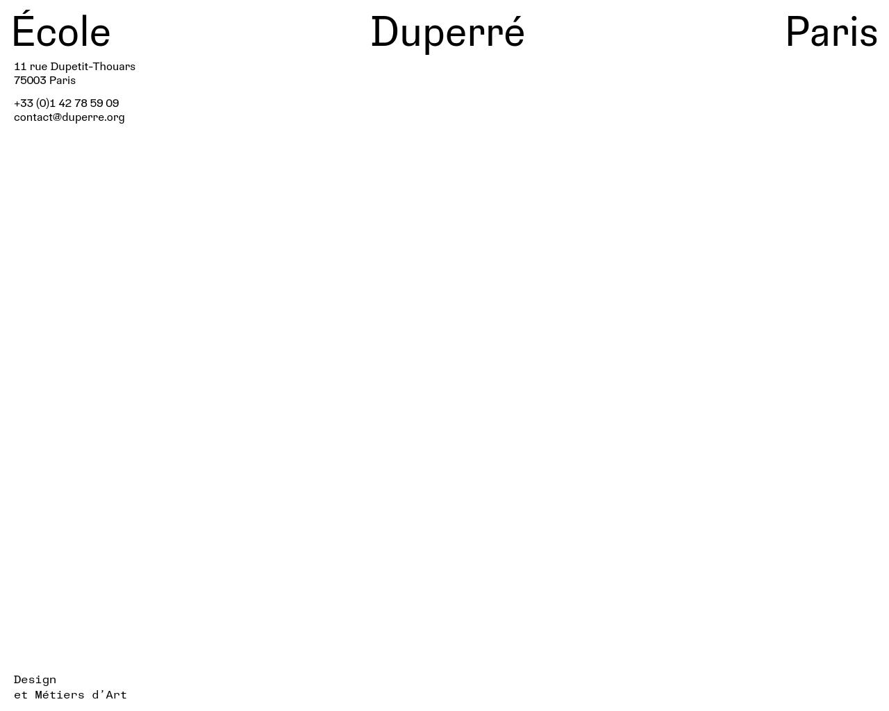 duperre.org
