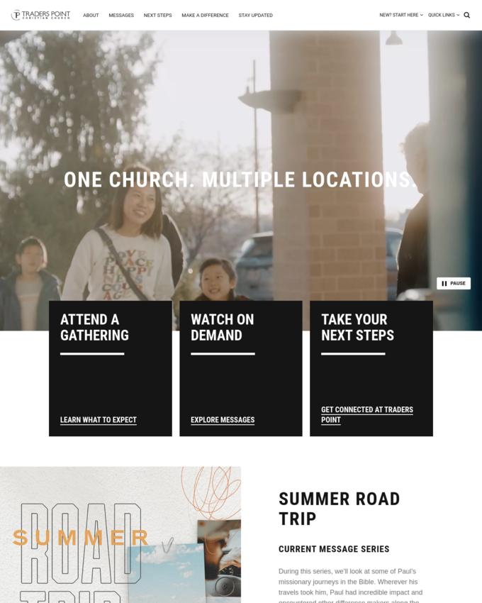 Traders Point Christian Church - tpcc.org