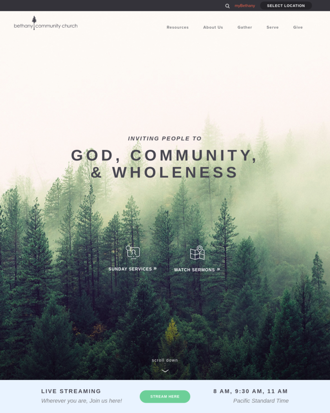 Bethany Community Church (WA) - churchbcc.org