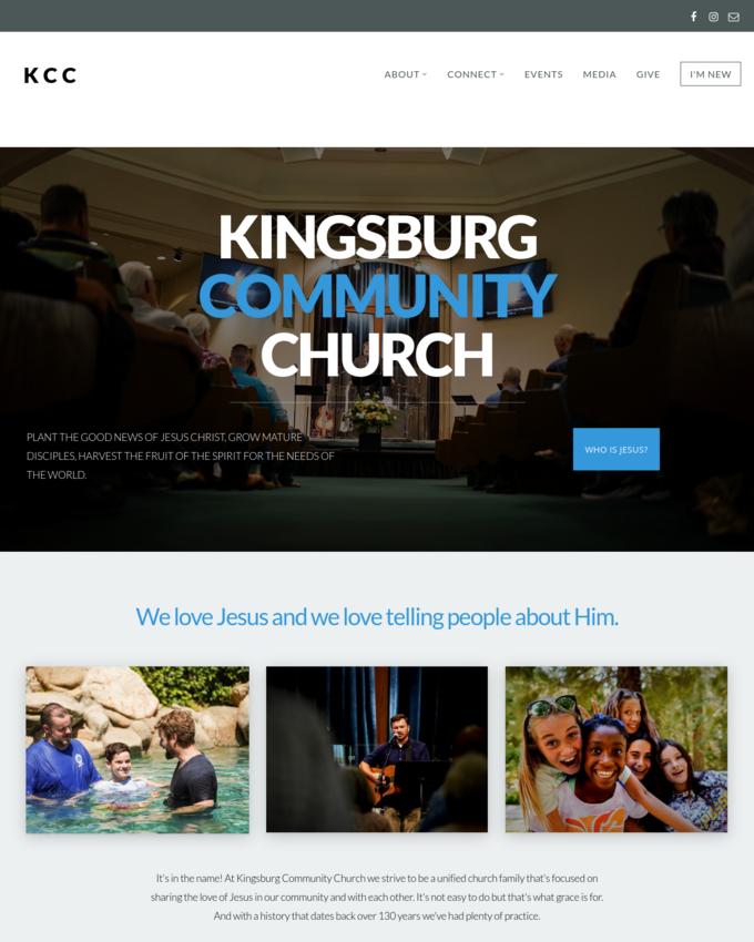 Kingsburg Community Church - kingsburgcommunitychurch.org