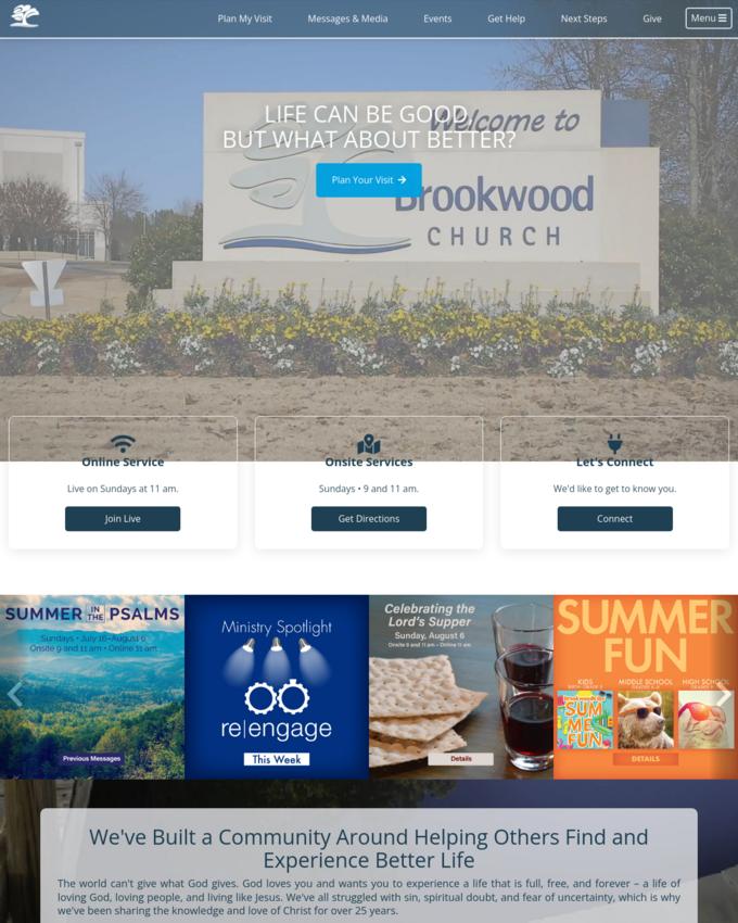 Brookwood Church - brookwoodchurch.org