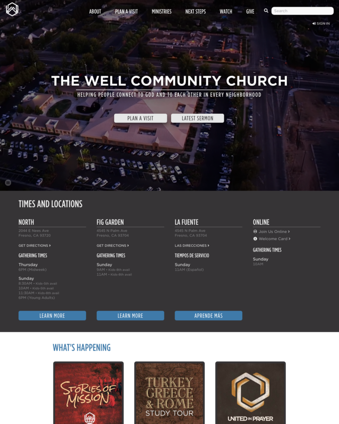 The Well Community Church - thewellcommunity.org
