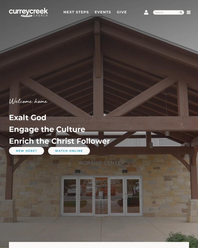 Currey Creek Church - curreycreek.com