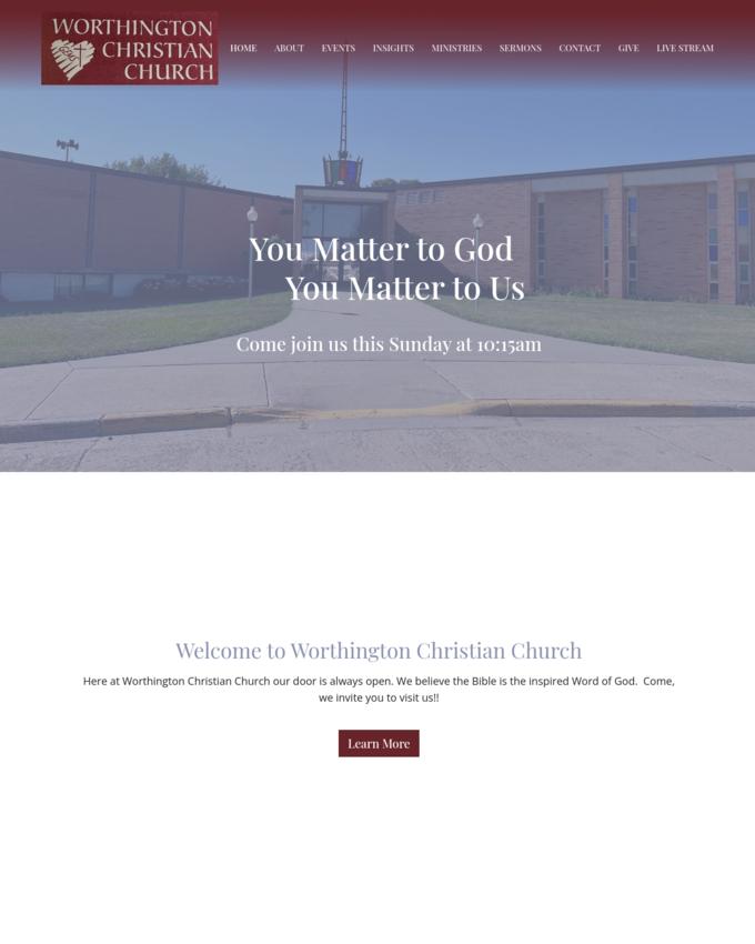 Worthington Christian Church - worthingtonchristianchurch.com