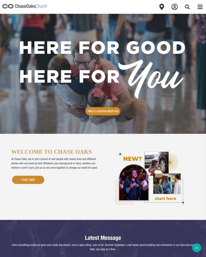 Chase Oaks Church - chaseoaks.org